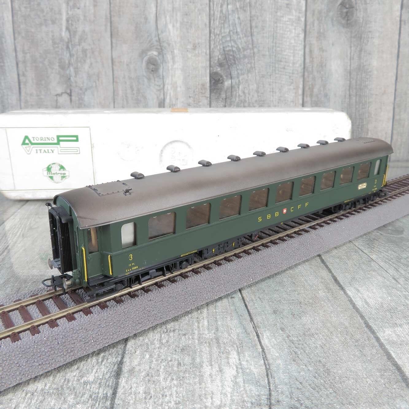 Metropolitan 7030 - H0 - Personenwagen - SBB - 3.Klasse - OVP -  B22242