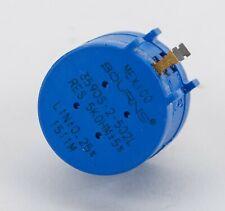 New Listingbourns 3590s 2 502l 5k 10 Turn Precision Potentiometer New Old Stock