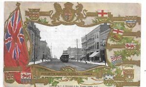 Patriotic-PC-WINDSOR-ONTARIO-Ouellette-Avenue-Publisher-Warwick-Bros-Circa-1905