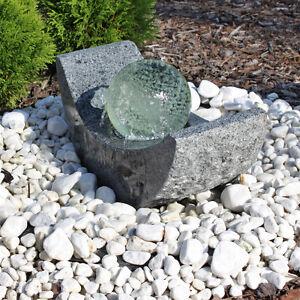 Gartenbrunnen Mit Led Beleuchtung   Granit Springbrunnen Gartenbrunnen Mit Led Beleuchtung Und Drehender