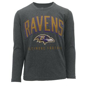 Baltimore-Ravens-Kids-Youth-Size-NFL-Official-Long-Sleeve-Athletic-Shirt-New