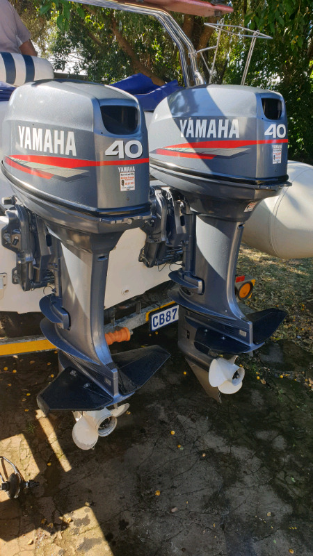 2 x 50 Yamahas or 40 Xwt WANTED