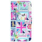 Accessorize Love London Fashion Flip Folio Case Book Cover for iPhone 7 6s & 6