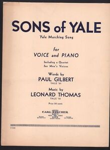 Sons-of-Yale-Yale-Marching-Song-1936-Football-Sheet-Music