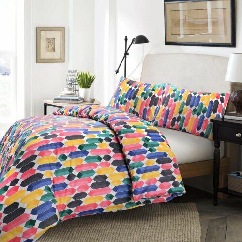 Nimsay Soft Cotton Blend Duvet Quilt Cover Set Single Double Super King Bedding