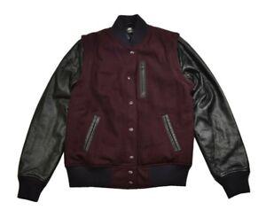 Nike Destroyer Jacket Varsity Junior's Deep Garnet Nsw Black Contrast Sleeves rfBqnrz