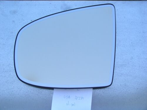 LEFT ORIGINAL BMW X5 X6 E70 E71 E72 Auto DIM HEATED MIRROR GLASS LH USA TYPE yel