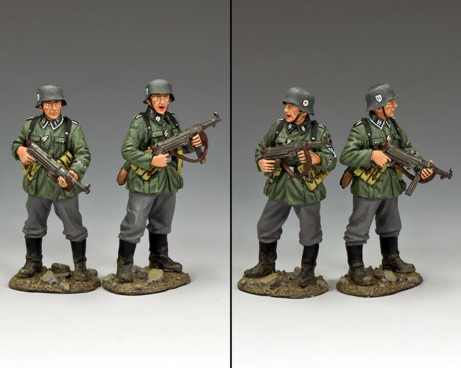 KING & COUNTRY WW2 GERMAN ARMY WS315 BUNKER BODY GUARDS MIB