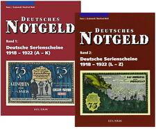 Deutsches Notgeld - Band 1+2 - Deutsche Serienscheine 1918-1922 (Grabowski/Mehl)