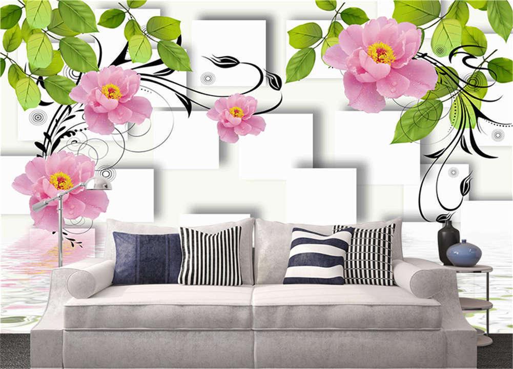 Main Habitual Petal 3D Full Wall Mural Photo Wallpaper Printing Home Kids Decor
