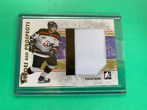 2006-07-ITG-Heroes-And-Prospects-Patrick-Kane-Jersey-Rookie-Card-RC