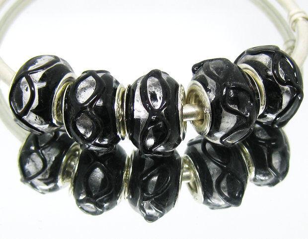 20 pcs Murano Glass Lampwork Bead fit European charm bracelet Gift Free ship L74