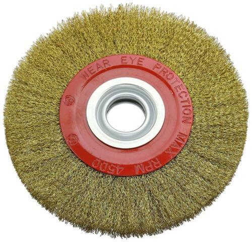 200 mm Silverline 245128 Brosse circulaire métallique 200 mm