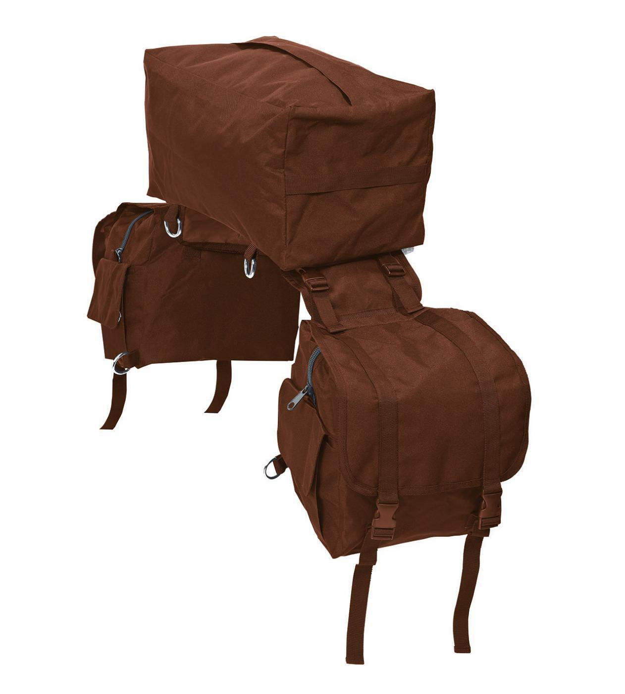 BUSSE Packtasche 3-in-1 3-in-1 3-in-1  Packtasche  braun Wanderreiten Westernreiten 2b6dd6