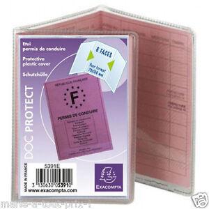 Pochette-pour-protection-des-PERMIS-DE-CONDUIRE-Protege-document-etuis-plastique