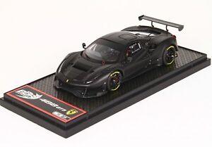 Ferrari-488-GT3-Noir-Mat-1-43-lim-ed-20-pcs-BBRC180MB-BBR-Models