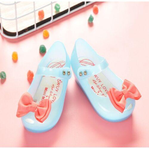 INSTOCK ORANGE Kids Water Boys/&Girls Shoes SLIP Jelly Swim Shoes