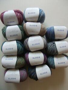 5-x-50g-Sublime-Elodie-Double-Knitting-Merino-Wool-for-Knitting-Crochet