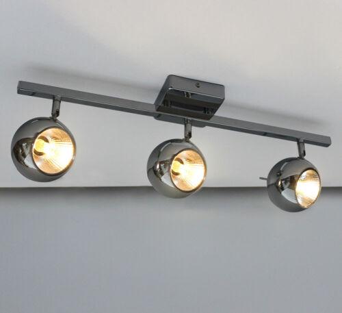 LED Decken Leuchte Lampe schwenkbar edle Chrom Spots 56-100cm 6-10W Warmweiß