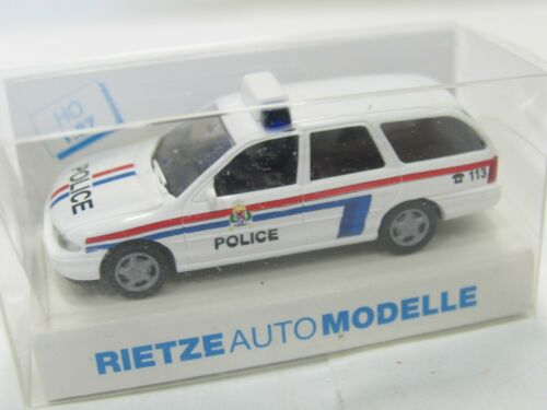WW26 Rietze 1//87 Ford Mondeo /'Police Grand-Ducale 113/' Luxembourg OVP