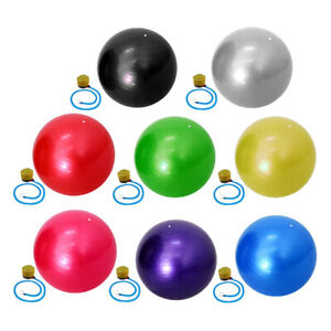 65 cm Exercise Yoga Balls Fitness Anti Burst Birthing Pregnancy Swiss Ball Pump