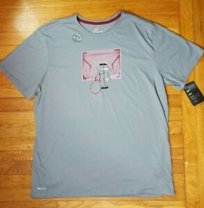 NIKE DRI Fit Basketball T Shirt Neu Schwarz Blau Pink