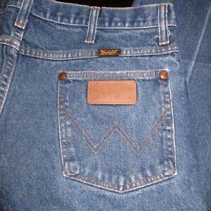 8975fe49 70s Vtg W34 L32 Wrangler 936DEN Jeans Pocket Patch Straight Leg ...
