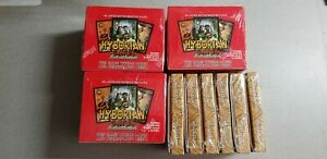 3 box lot of Hyborian Gates Collectible Card box + 6 starter Deck by Julie Bell