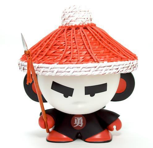 QING SOLDIER HOUSE OF LIU CRAZY LABEL VINYL TOY FIGURE MONK
