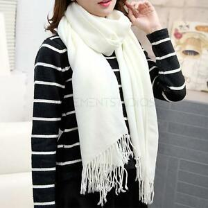 Echarpe châle laine mélangée ange pour femme fille blanc Femme 01   eBay 4a4d951d07c