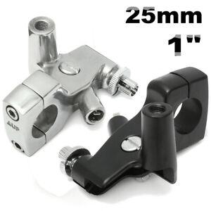 25mm-1-034-Motorcycle-Clutch-Lever-Mirror-Holder-Bracket-For-Honda-Shadow-600-VT750