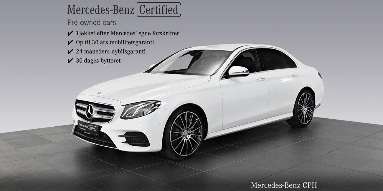 Mercedes E350 d 3,0 AMG Line aut. 4d - 549.900 kr.