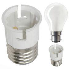 ES E27 To BC B22 Bulb Base Lamp Socket Fitting Extender Converter Adaptor Holder