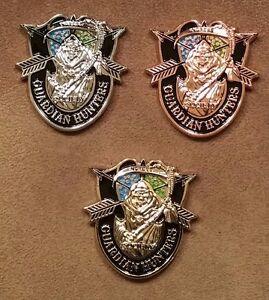 Ingress Challenge Coins - Guardian Hunters - Set of Gold