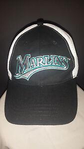 reputable site 3b6ba 94c05 Image is loading MLB-Baseball-Vintage-Miami-Florida-Marlins-NAPA-Hat-