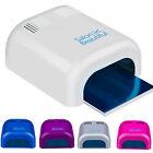 Salon Beau Gel Curing Nail Polish UV Lamp 36W Acrylic Timer Light Manicure Dryer