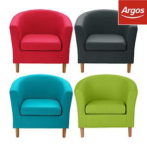 colourmatch at argos tub chair choose colour material fabric