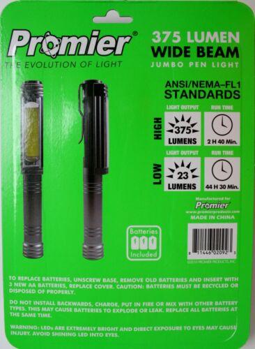 2 pack LED light set area 375 lumens flash safety strobe red flashlight portable