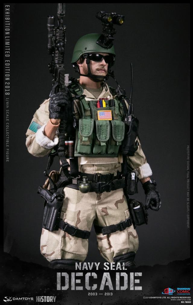 DAMTOYS 1 6 década Navy Seal 2003-2013 SHCC 2018 Exhibition Ver. figura De Acción