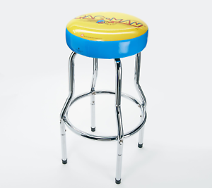 Arcade-1UP-Custom-Stool-PacMan-Arcade1UP-GamePlay-Adjustable-Pac-Man-Cab-Seat