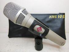 NEUMANN KMS 105 SUPER CARDIOID CONDENSER MICROPHONE LIVE OR STUDIO KMS105 LQQK !