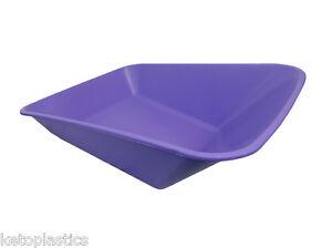 Lilas violet Roue Barrow remplacement corps en plastique 85 litre pas de trous faite au royaume-uni-afficher le titre d`origine qxIqGCve-07221808-564453763
