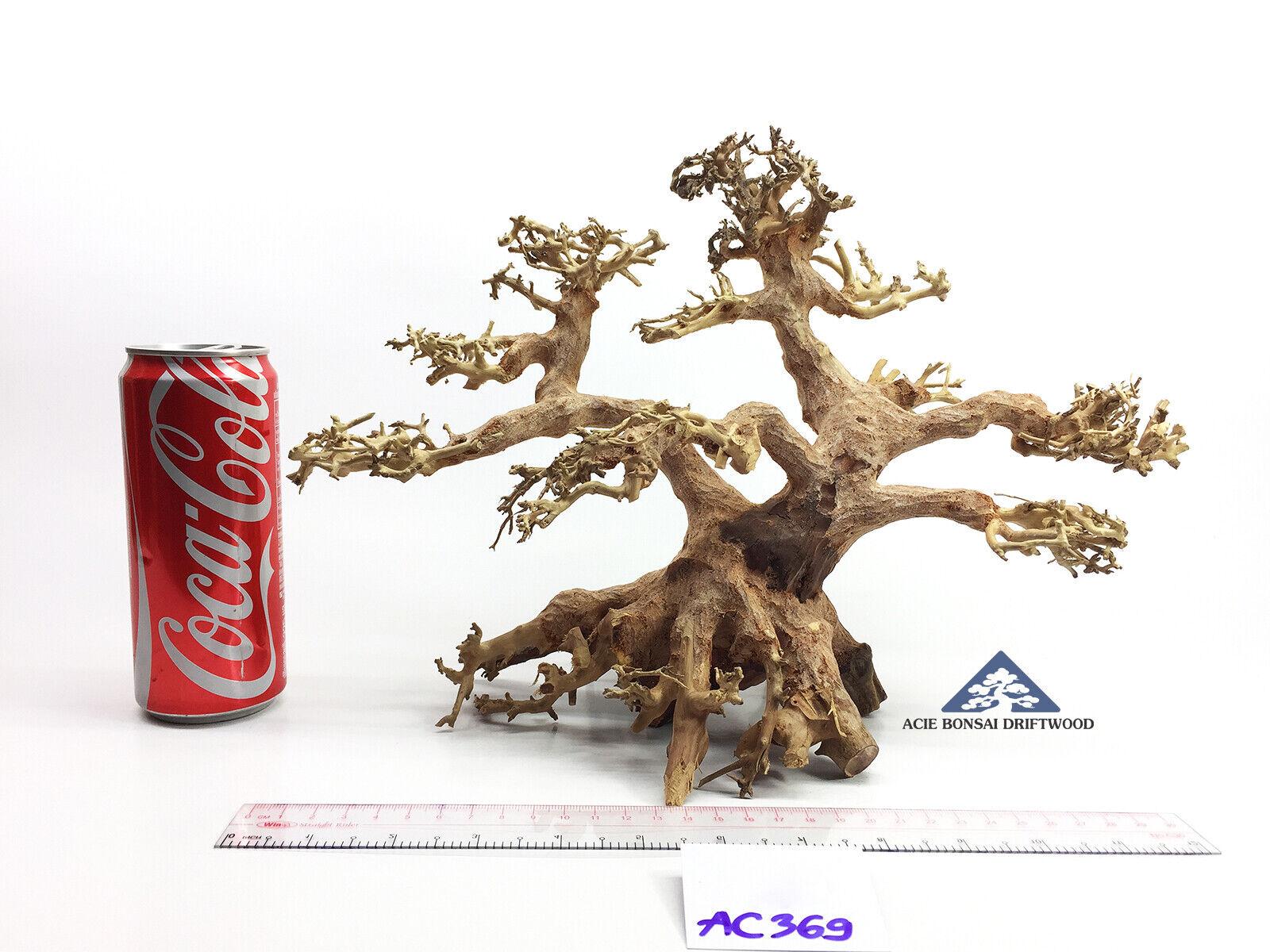Large Bonsai Driftwood Tree for Aquarium Moss Fish Shrimp Betta FreshwaterAC369