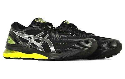 972d1527e29 Asics Mens Gel Nimbus 21 Running Shoes 1011A172 Black Lemon Spark Size 14  2E 191497774977 | eBay