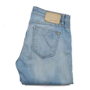 size 40 c3bf3 6d3eb Details zu MARC O'POLO Women's Jeans Size W30 L32 Alby Slim Light Blue Zip  Fly Authentic