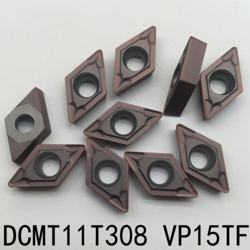 DCMT11T308 VP15TF CNC lathe insert cutting tool carbide turning blade 10P