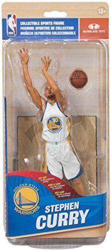 Stephen Curry - McFarlane NBA Series 28 Action Figure (Weiß Jersey)