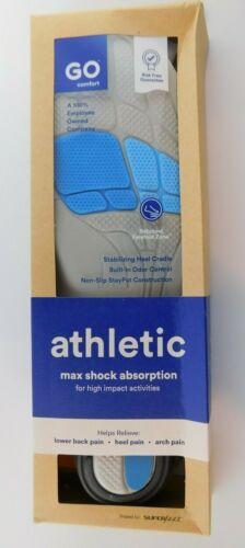 Medium Go Comfort Athletic Max Shock Absorption Insole Medium Men Women