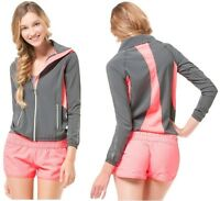 Aeropostale Womens Live Love Dream Full Zip Athletic Track Jacket S,m,l,xl