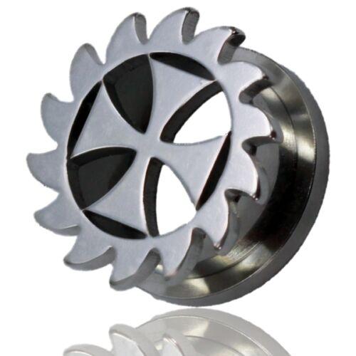 2 bis 14 mm Plug Tunnel Schraub Ohrpiercing Piercing